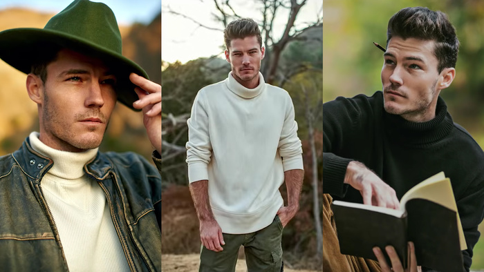 Tips for Styling, Posing, and Editing Shoots With Male Models