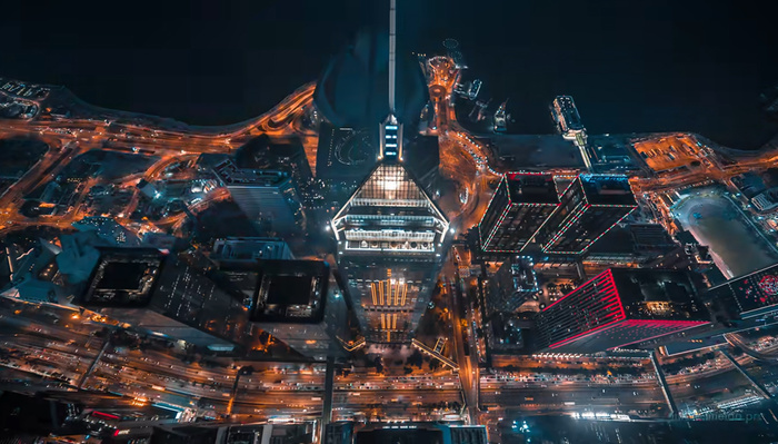 Mind-Blowing Dystopian Aerial Video of Hong Kong
