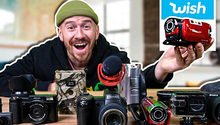 YouTuber Buys and Tests All the Cheap Cameras on Wish