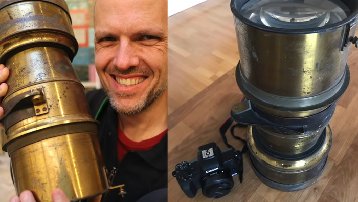 Restoring and Using a 160-Year-Old Petzval Lens