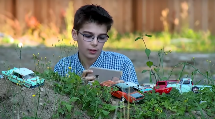 12-Year-Old Boy With Autism Who Photographs Toy Cars as if They Were Life-Size Launching Photography Book