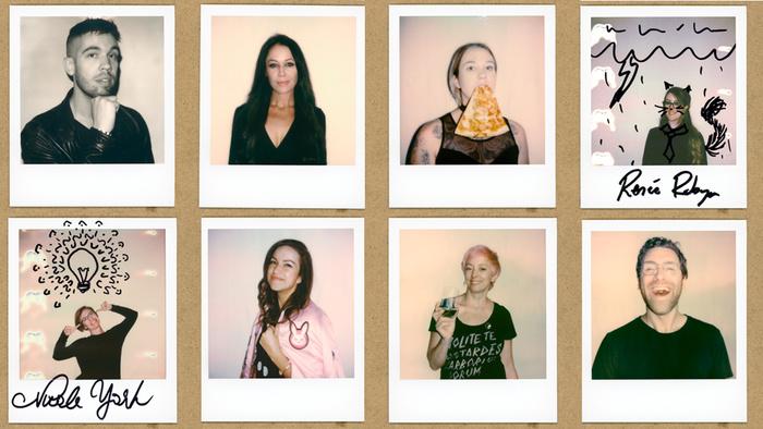 The Magic of Ken Yu's Polaroids