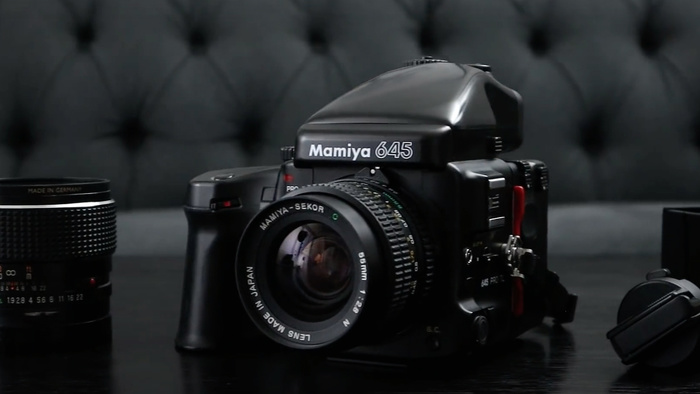 What's Medium Format, Compact, Modular, and Affordable All Over? The Mamiya 645 Pro-TL
