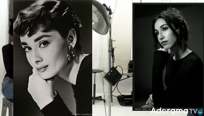 Recreating a Classic Hollywood Portrait