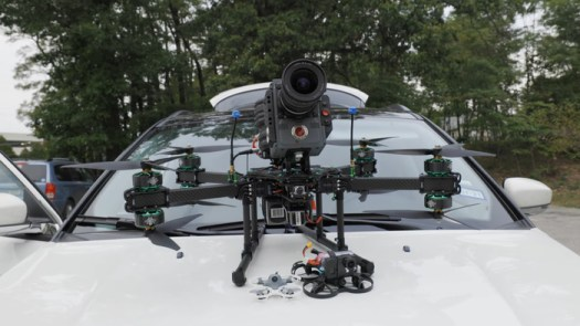 Putting a RED Cinema Camera on a 100mph First-Person Racing Drone