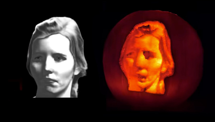 How to Carve a Photo Perfectly Into a Pumpkin —or Not