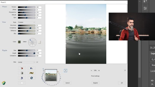How to Automatically Generate Water and Reflections in Photoshop