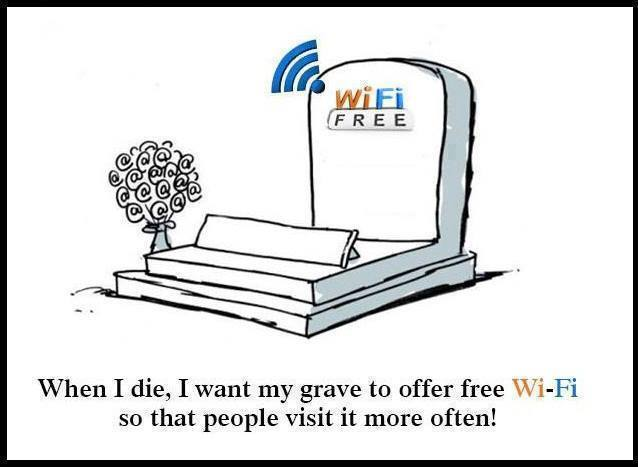 Grave With Wifi Funny Pictures Quotes Memes Funny Images