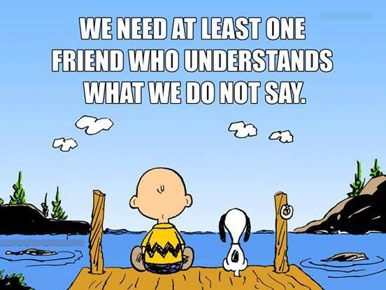 Image result for we all need at least one friend who understands what we do not say