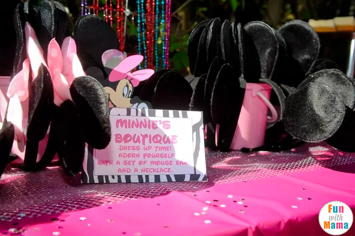 Minnie Mouse Birthday Party Ideas Zebra Style Fun With Mama