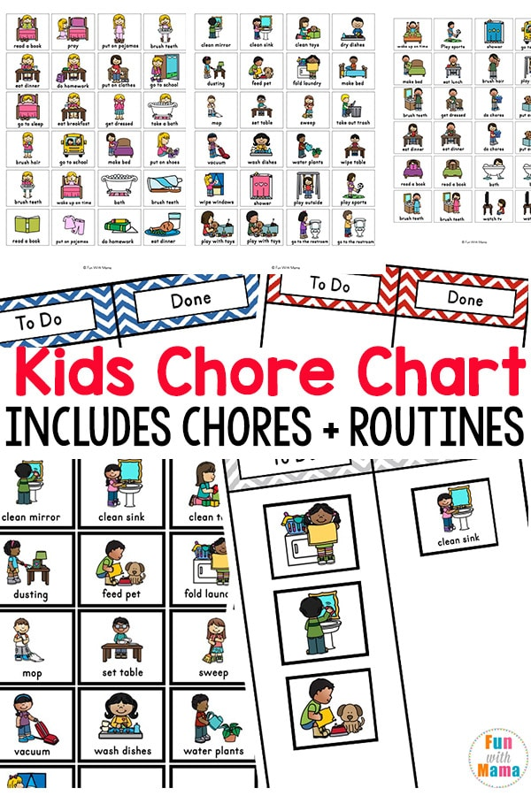 Kids Chore Chart Fun With Mama