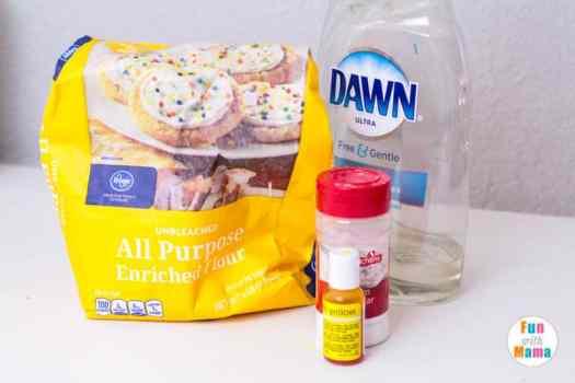 playdough ingredients