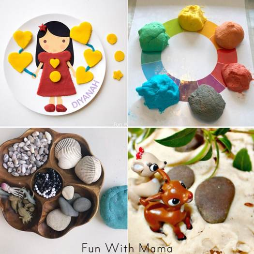 things to make with play dough