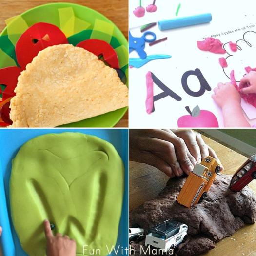 things to make with play doh