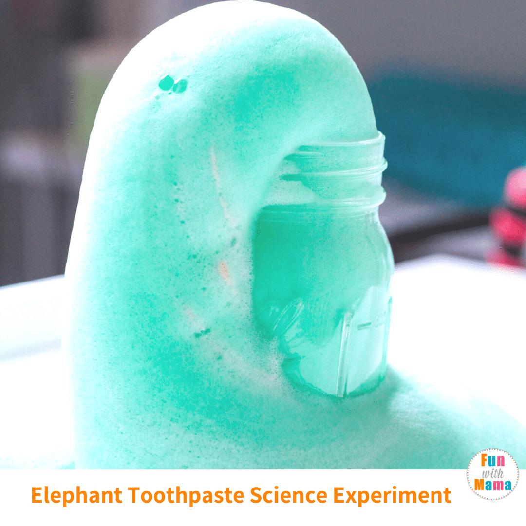 Easy Elephant Toothpaste Experiment