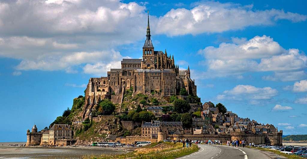 Vue sur le Mont Saint-Michel GR39