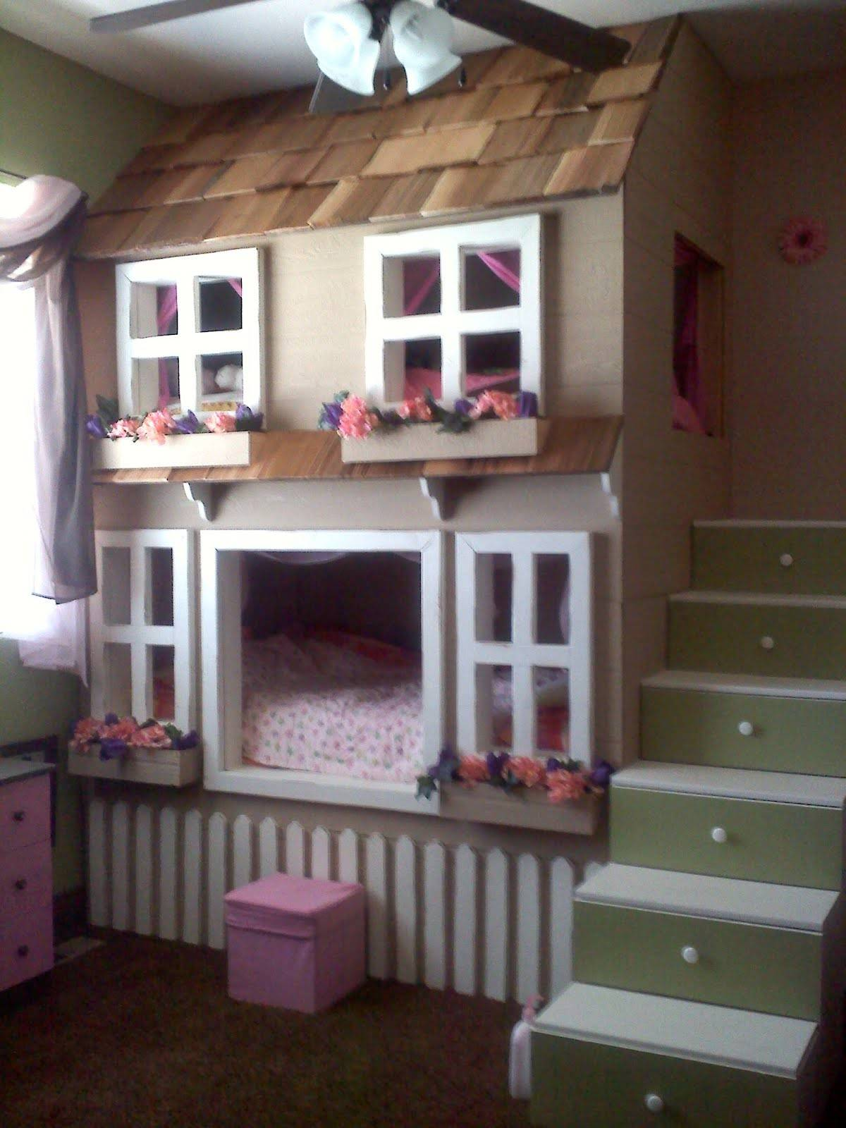 19 Photos And Inspiration House Bunk Bed Gabe Jenny Homes