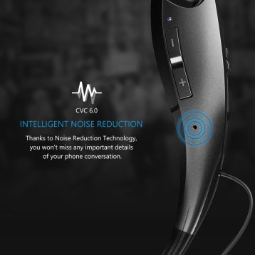 Mpow Jaws Neckband Noise Cancellation