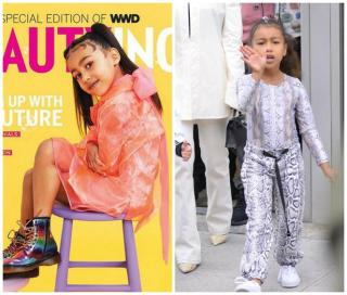 North West on the cover