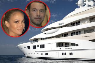 Jennifer Lopez and Ben Affleck have chartered a luxury yacht