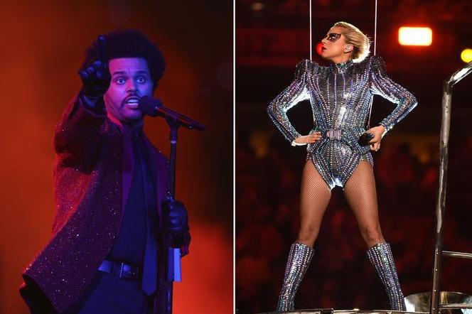 The Weeknd, Lady Gaga at the Super Bowl