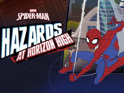Spider Man  Hazards at Horizon High   online game   GameFlare com Online Game Spider Man  Hazards at Horizon High