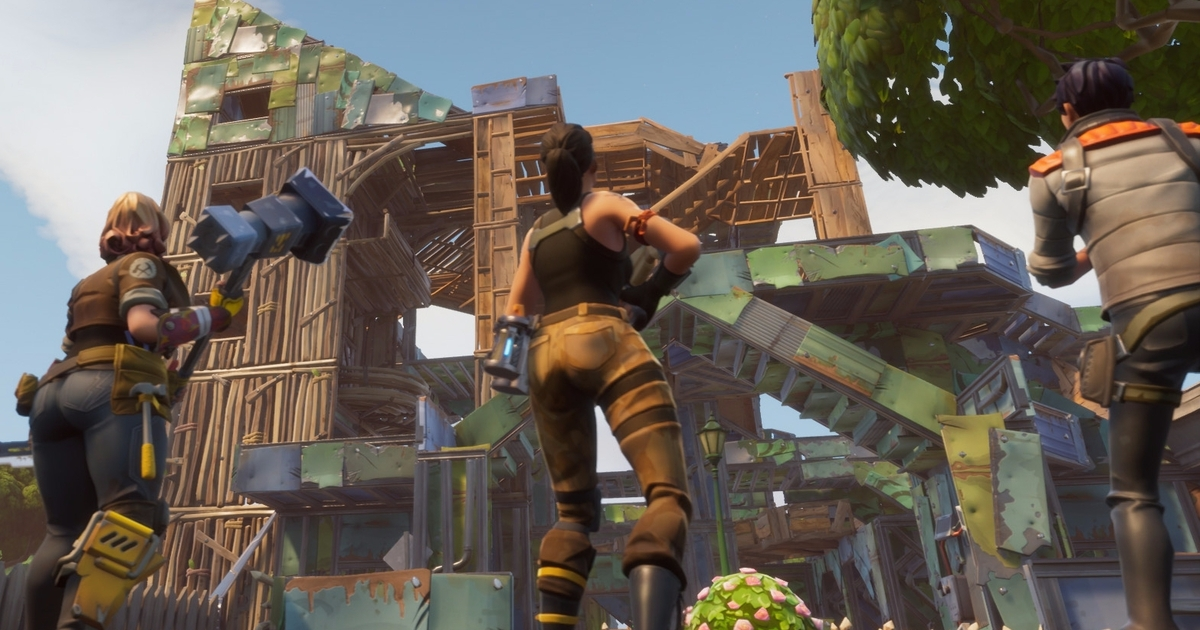 Fortnites Fun Is Buried Under Five Years Of Gamings Clutter
