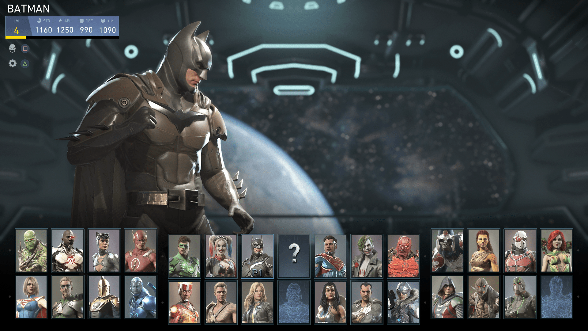 Image result for Injustice 2 character screen