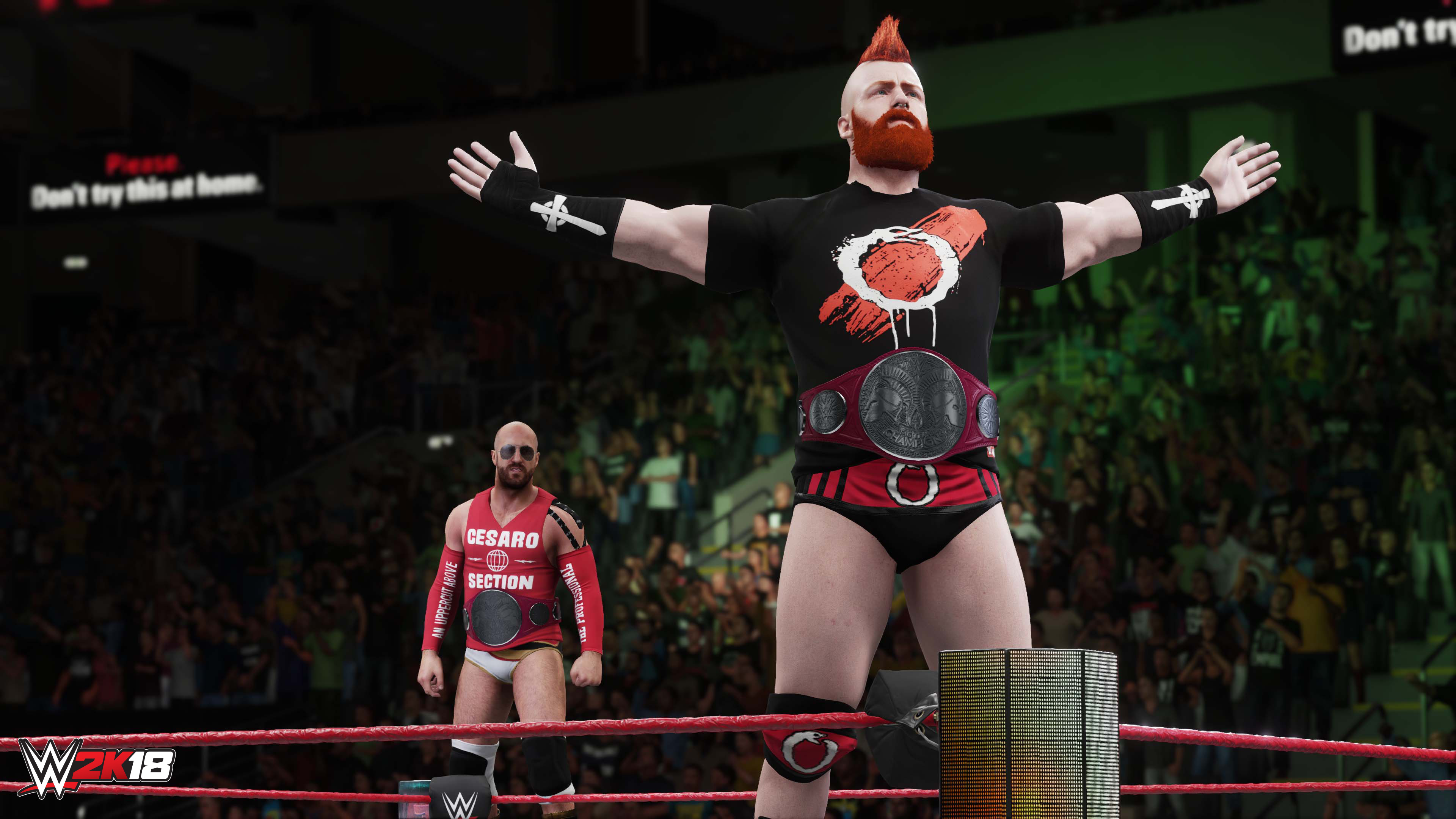 Image result for wwe 2k18 my career