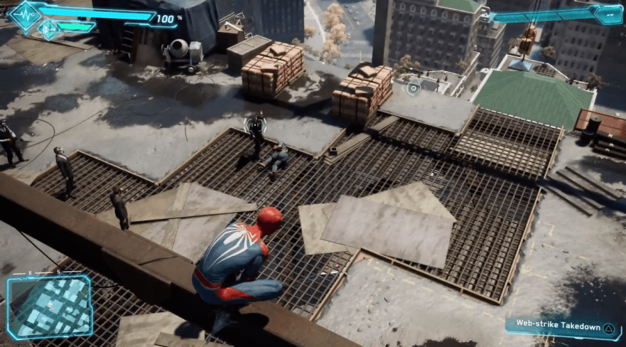 Insomniac s Spider Man Teases Miles Morales  Game Out in 2018   USgamer Spider Man Insomniac E3 Gameplay