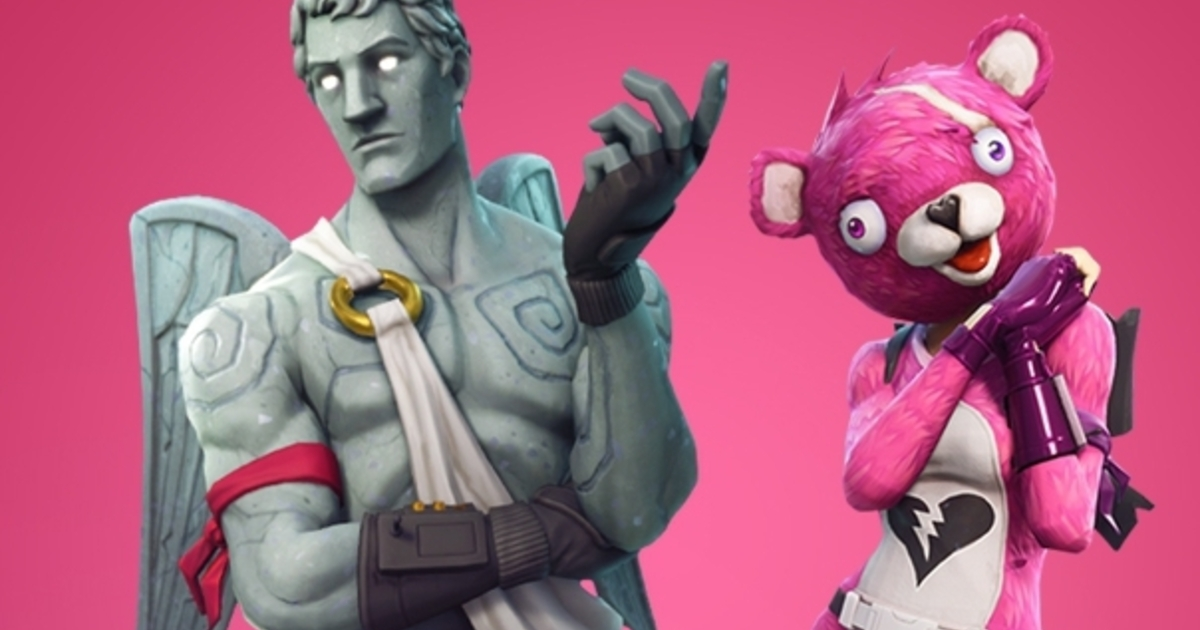 Fortnite Unveils New Valentines Event Details Skins And