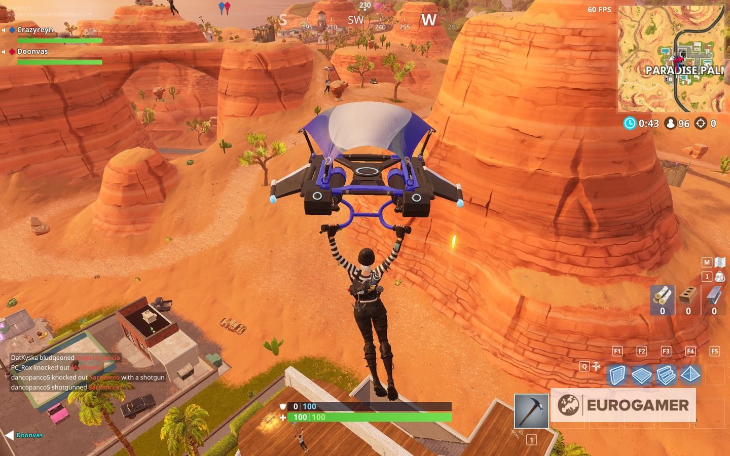 Fortnite Lightning Bolt Locations Where To Find Floating