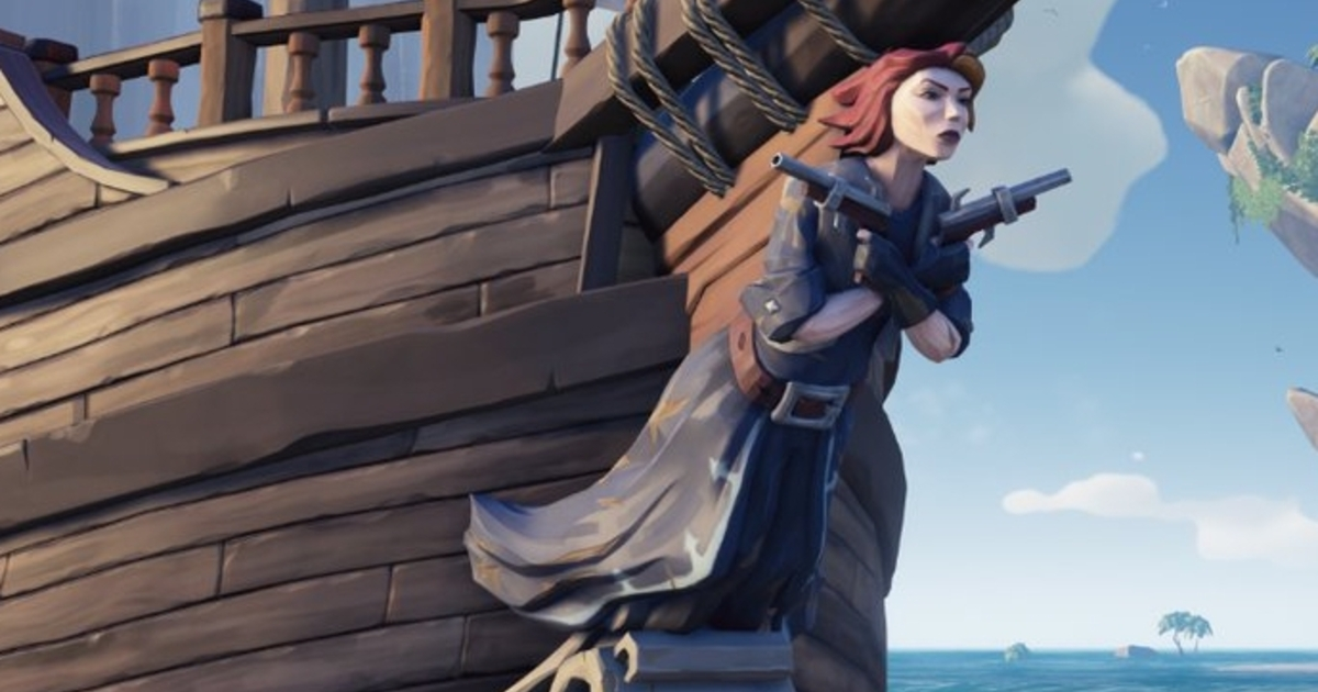 You Can Get Sea Of Thieves Joanna Dark Figurehead By Watching Inside Xbox Tomorrow
