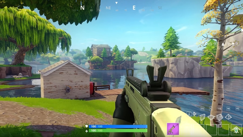 Fortnite Battle Royale In First Person Mode Looks