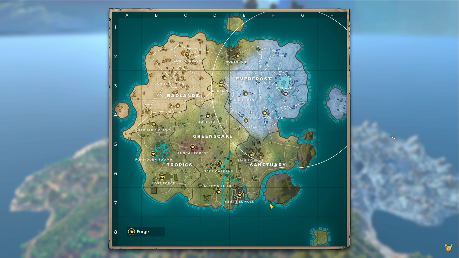 Realm Royale  Map guide   Forge locations  loot spots and more     Realm Royale  Map guide   Forge locations  loot spots and more   Metabomb