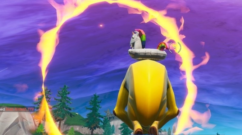 fortnite flaming hoop locations where to launch through flaming hoops with a cannon - hoops fortnite