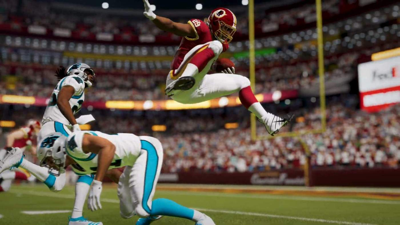 "Madden NFL 21 Will Make Washington a ""Generic"" Team With Update ..."