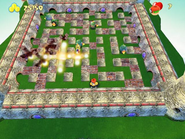 Bombermania Free PC Game Screenshot
