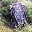 तनहुँको मानुङ डाँडा जाँदै गरेको माइक्रो दुर्घटना, पोखराकी एक महिलाको मृत्यु