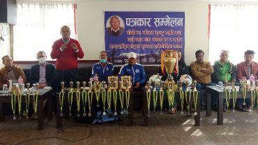 पोखरामा अर्को साता बगर भाइखलक एट ए साईड फुटबल प्रतियोगिता