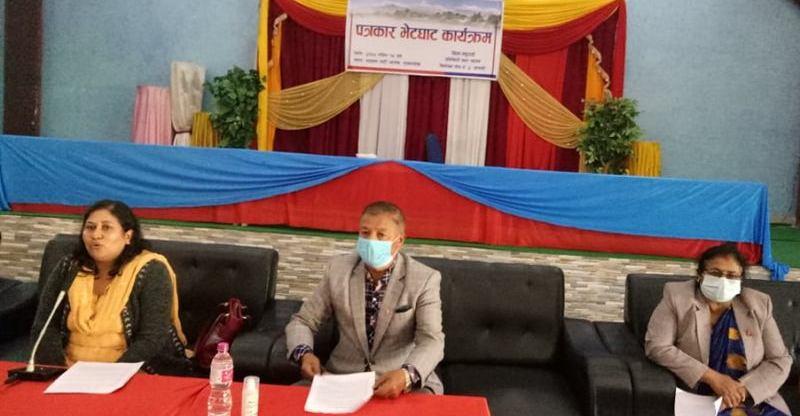 सांसद बिद्या भट्टराई द्वारा स्थानीय पुर्बाधार विकास साझेदारी कार्यक्रमका योजना सार्बजनिक