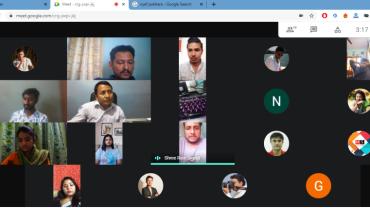 चलचित्र पत्रकार संघ कास्कीले भर्चुअल रुपमा मनायो स्थापना दिवस