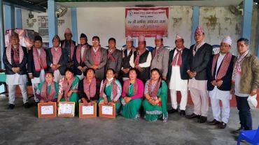 नेपाल ठकुरी सगँम कास्कीको अध्यक्षमा शेर उच्चै