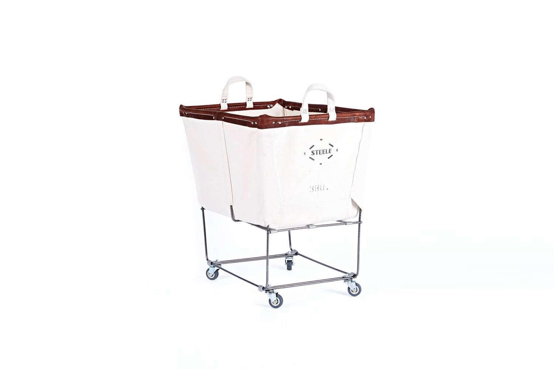3 Bushel Steele Canvas Laundry Bin