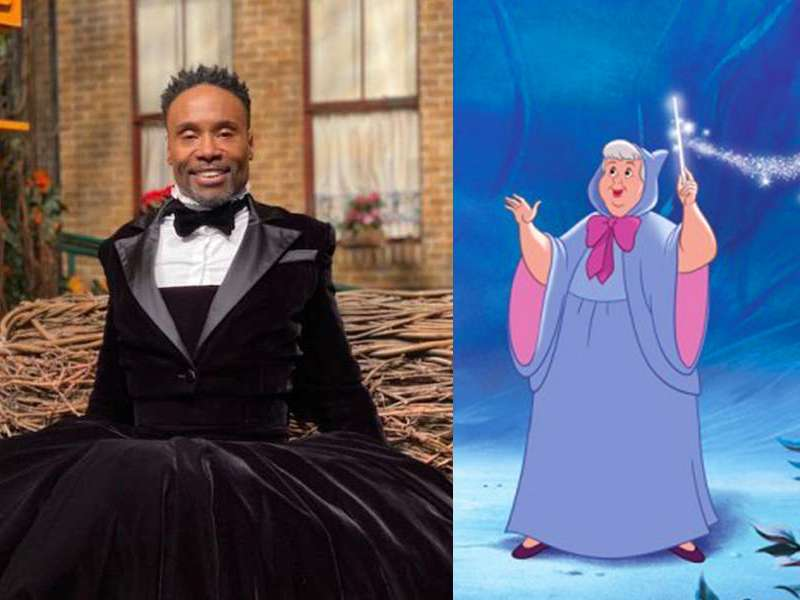 Billy Porter S Fairy Godmother In Disney S New Cinderella Will Be Genderless