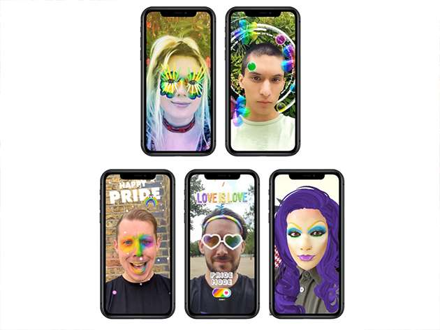 A Pride makeover with the Digital Pride Floats.