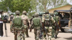 Image result for Nigerian Army rescues 211 civilians from Boko Haram