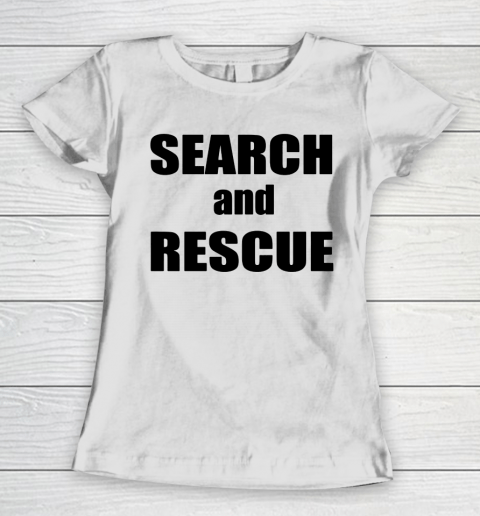 Trump Search And Rescue Women's T-Shirt