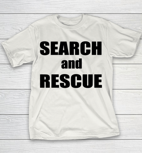 Trump Search And Rescue Youth T-Shirt