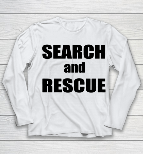 Trump Search And Rescue Youth Long Sleeve